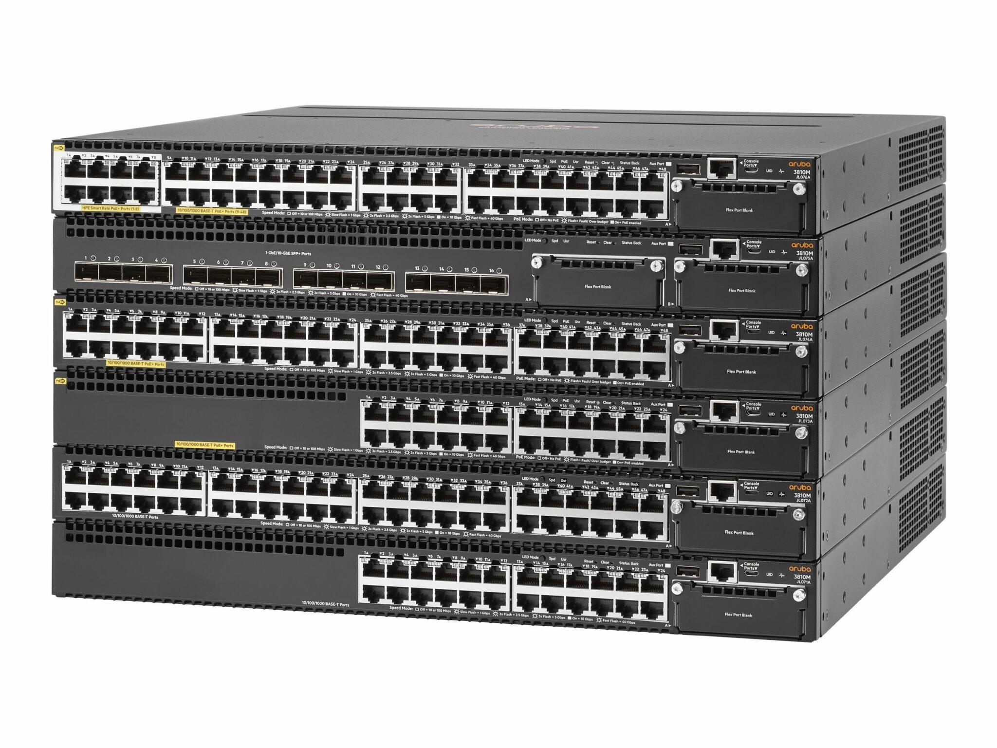 Aruba-3810m-16sfp-2-slot-switch
