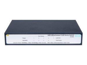 HPE 1420 5G PoE+ (32W) Switch U.S