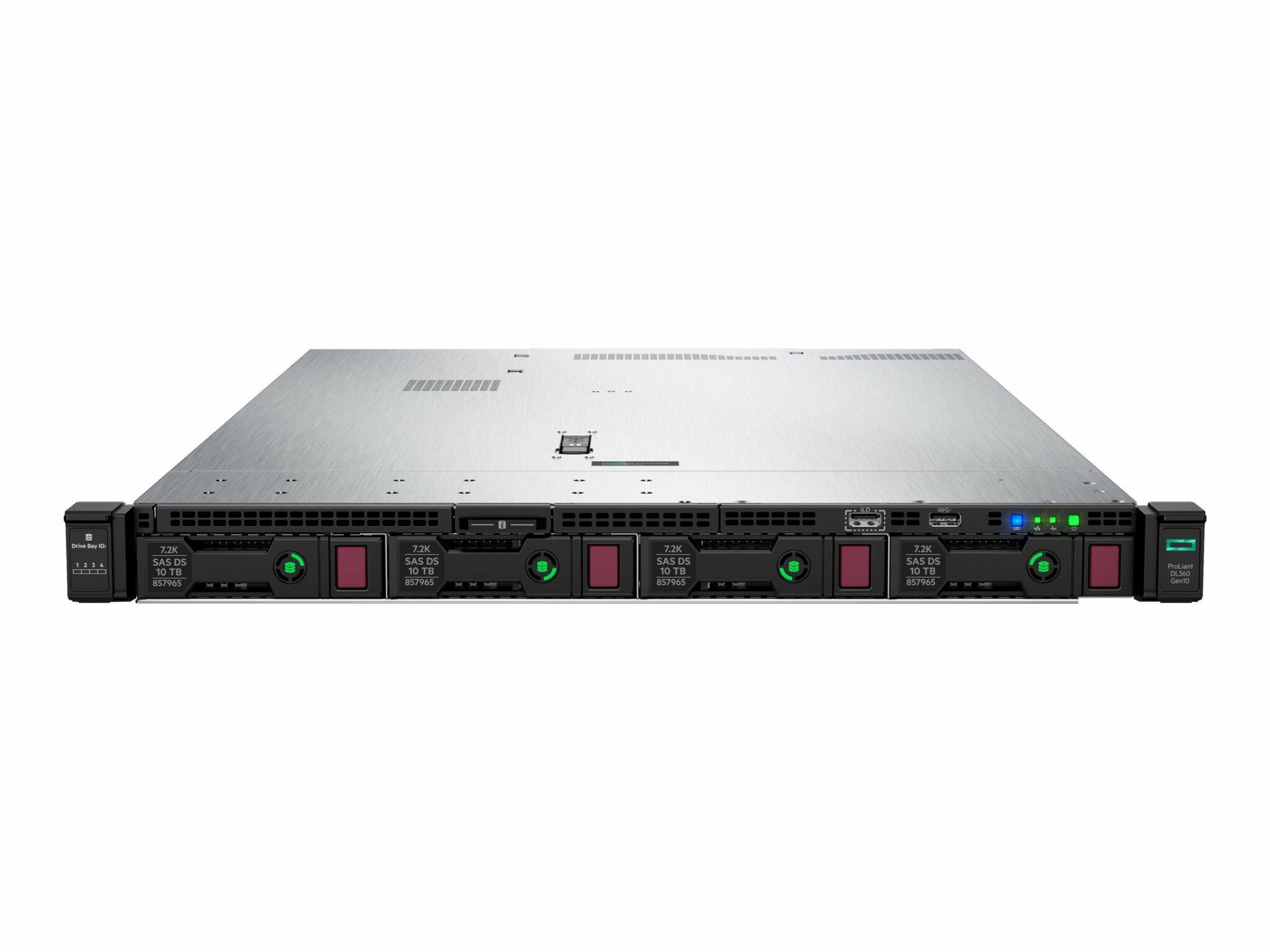 HPE DL360 GEN10 4112 1P 16G 8SFF Server Smart Buy