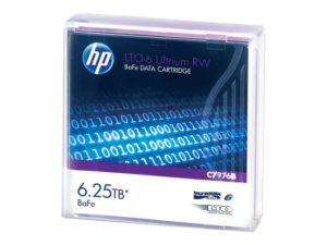 HP LTO6 Ultrium 6.25TB BaFe RW Data Tape
