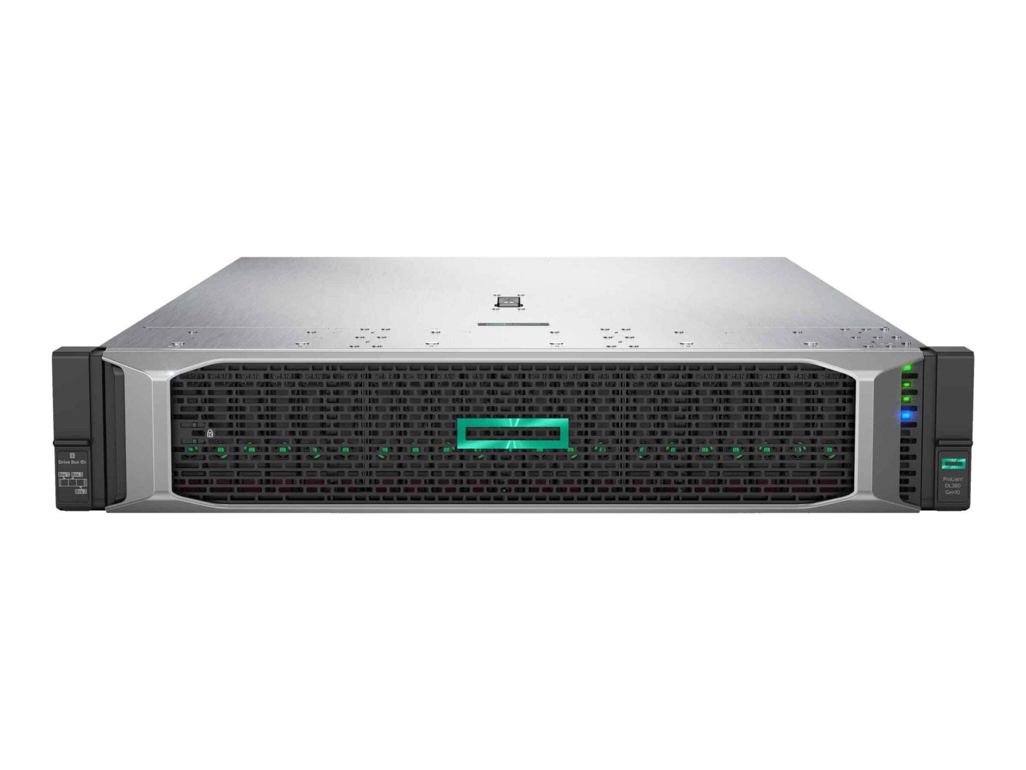 HPE ProLiant DL380 2U Rack-mount Perf Server – 1P Xeon Silver 4114 – RAM 32 GB