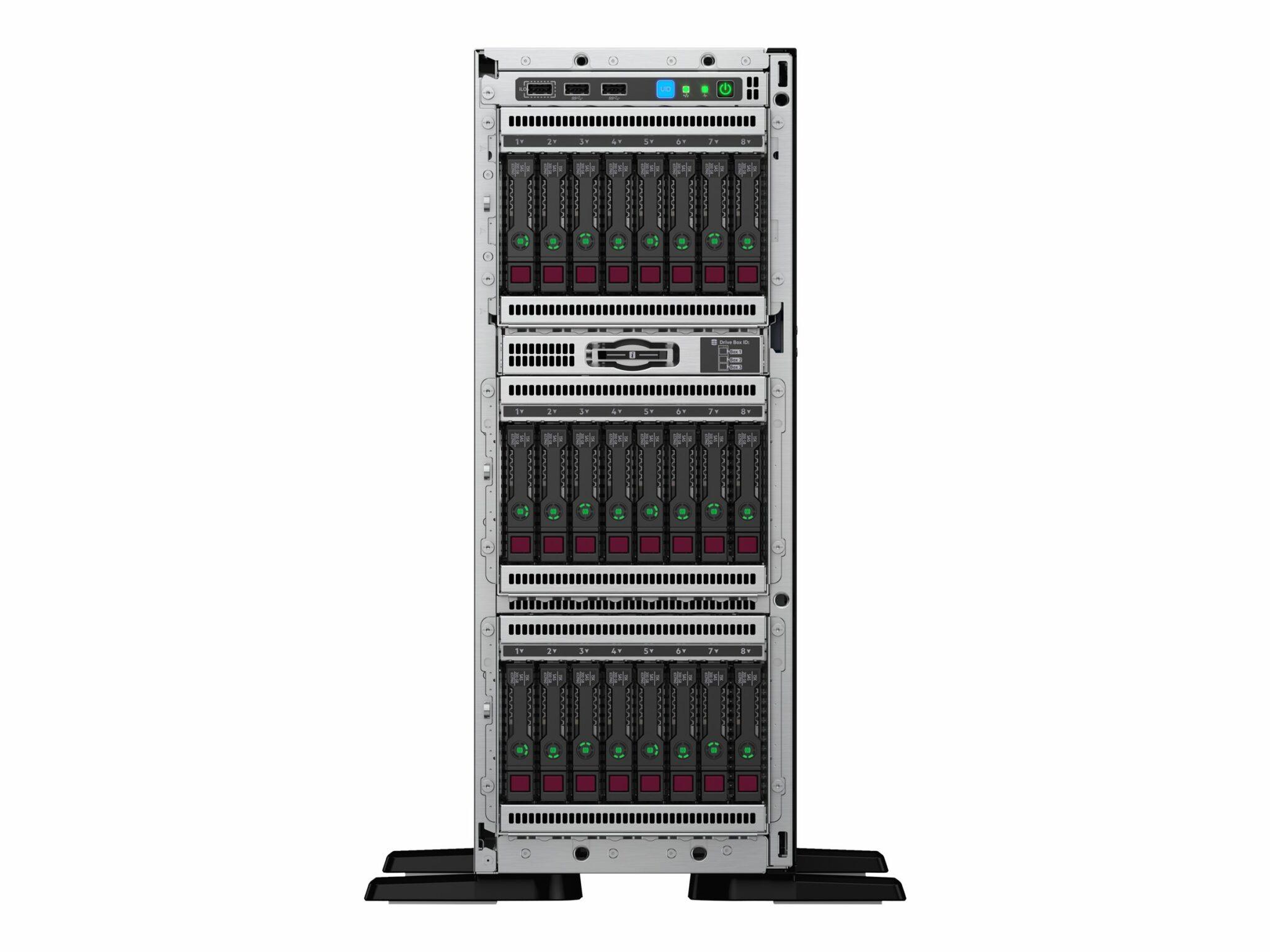 Hpe-proliant-ml350-gen10-entry-server-tower-4u-2-way-1-x-xeon-bronze-3106-1-7-ghz-ram-16-gb-sata
