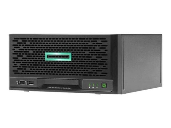 HPE ProLiant MicroServer Gen10 Plus E-2224 4-core 1P 16GB-U S100i 4LFF-NHP 180W External PS Server