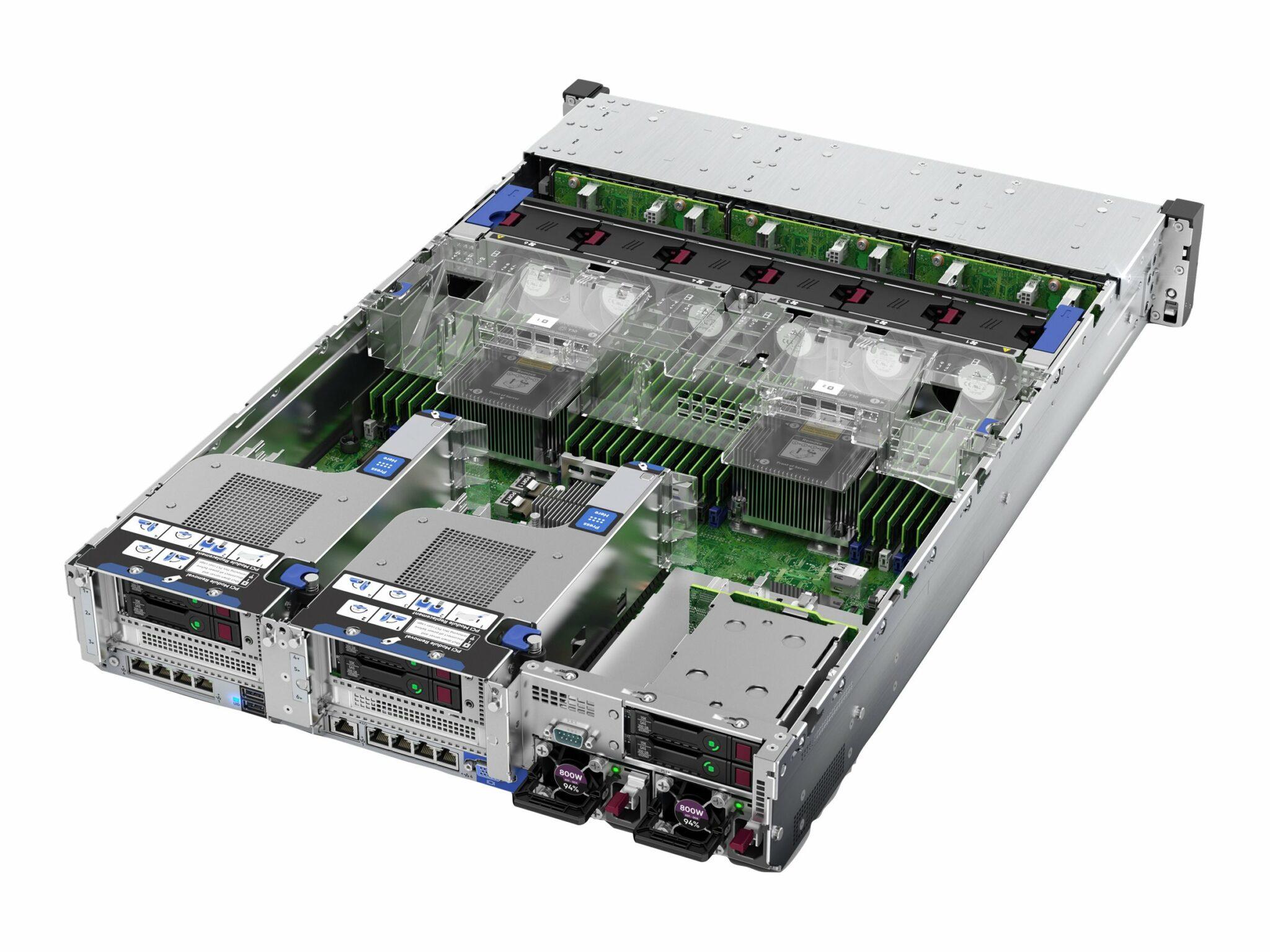 HPE ProLiant DL380 Gen10 5218 2.3GHz 16-core 1P 32GB-R P408i-a NC 8SFF 800W PS Server