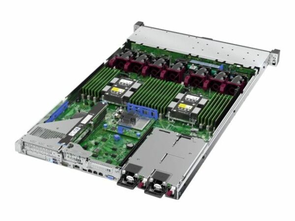 HPE ProLiant DL360 Gen10 4210R 2.4GHz 10-core 1P 16GB-R P408i-a NC 8SFF 500W PS Server