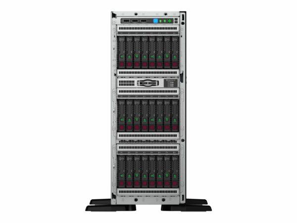 HPE ProLiant ML350 Gen10 3206R 1.9GHz 8-core 1P 16GB-R S100i 4LFF 1x500W RPS Server