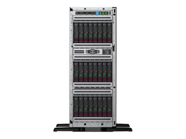 HPE ProLiant ML350 Gen10 4214 2.2GHz 12-core 1P 32GB-R P408i-a 8SFF 1x800W RPS Server