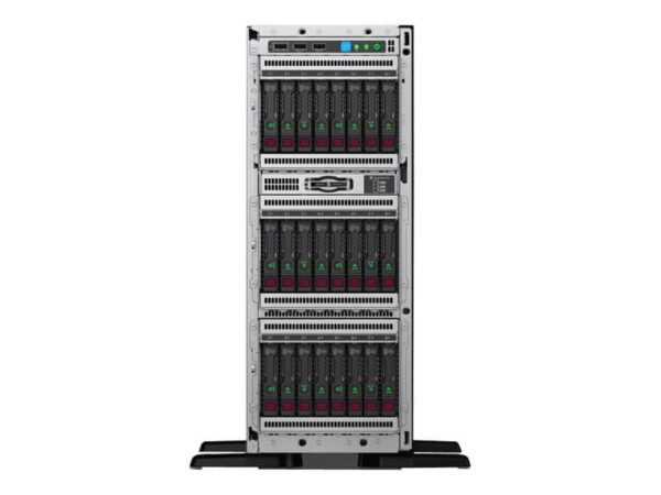 HPE ProLiant ML350 Gen10 4214R 2.4GHz 12-core 1P 32GB-R P408i-a 8SFF 1x800W RPS Server