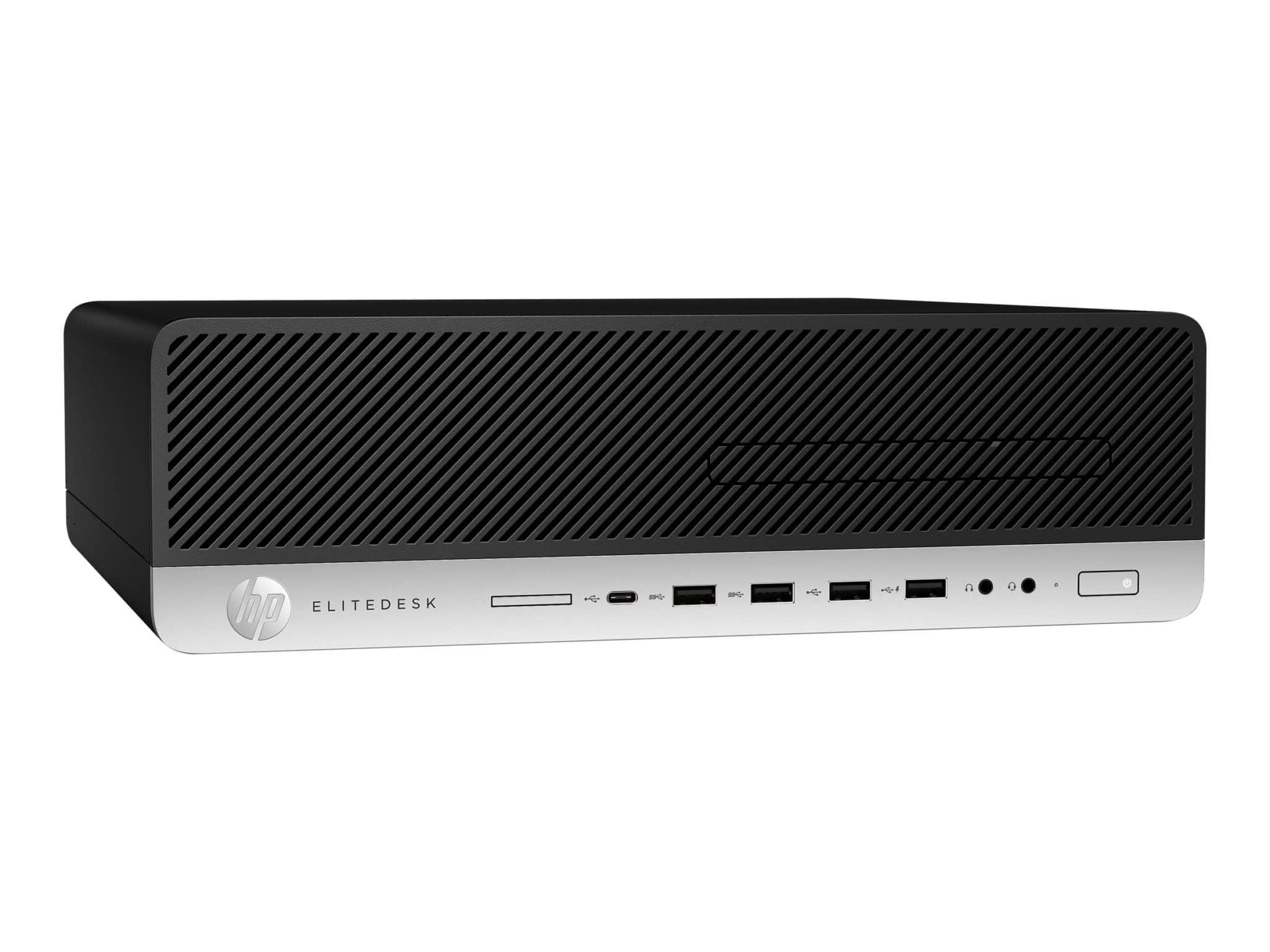 HP EliteDesk 800 G4 - Smart Buy - SFF - Core i5 8500 3 GHz - 8 GB - 512 GB - Desktop