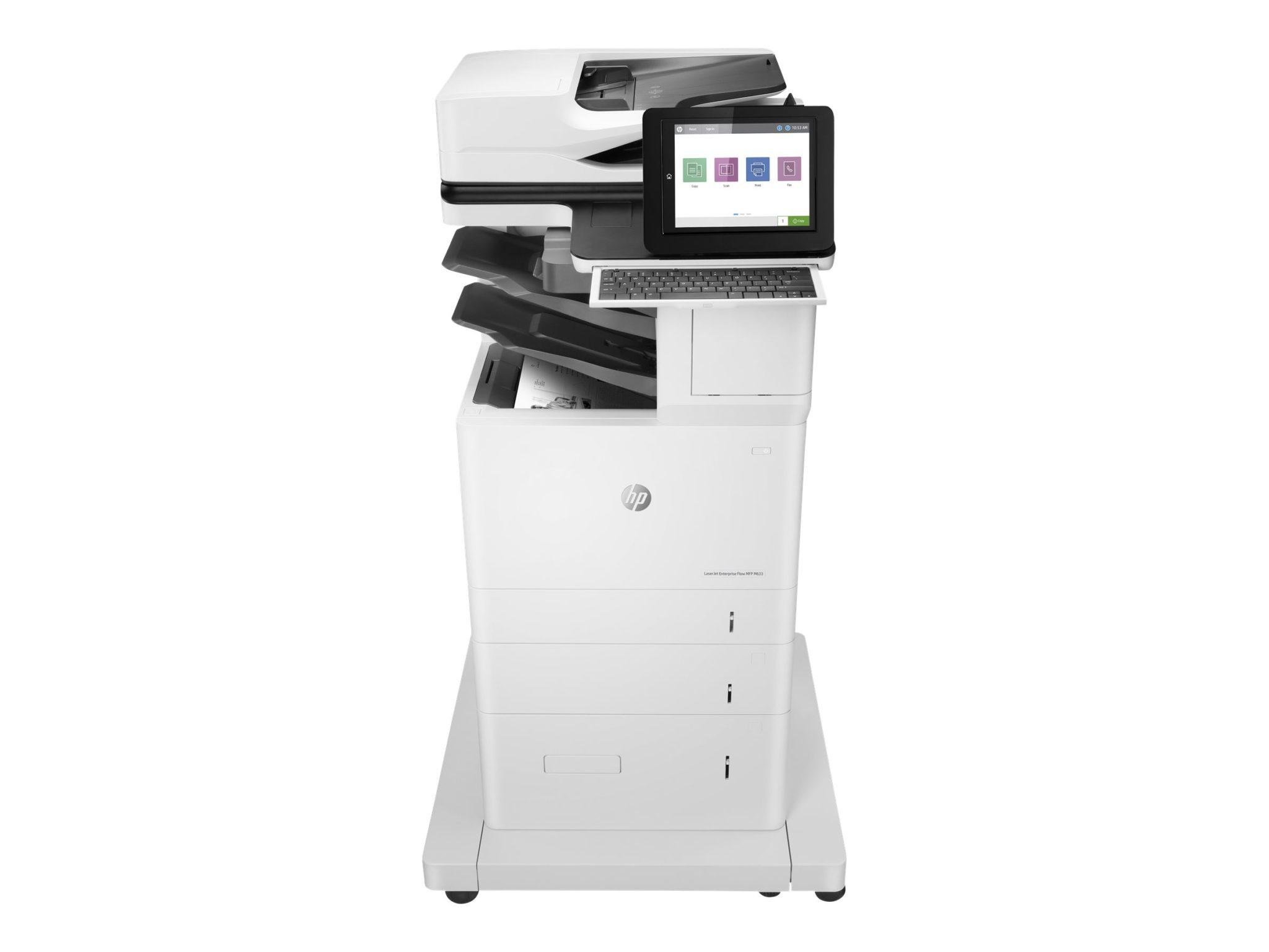HP LaserJet Ent Flow MFP M633z