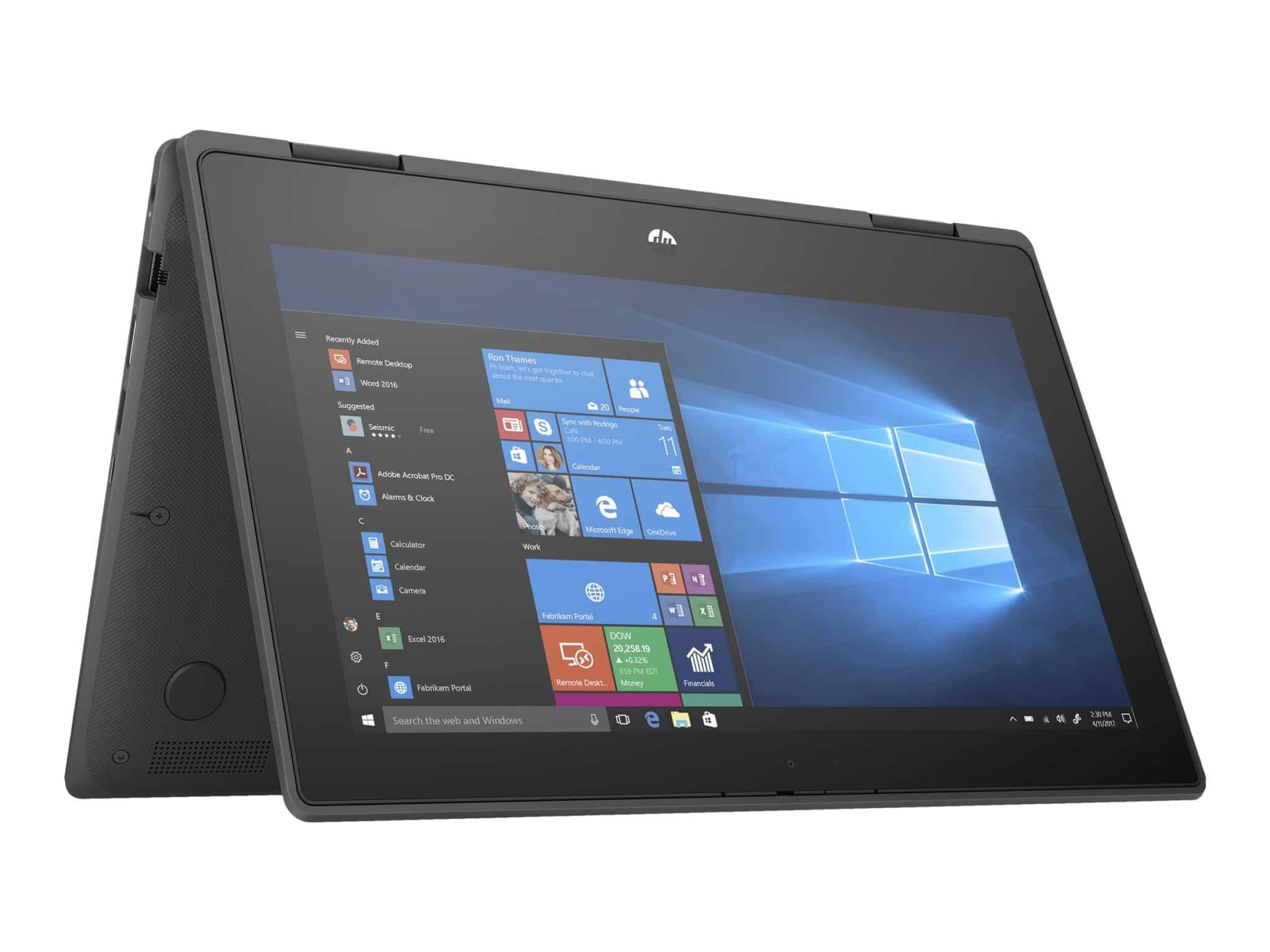 "HP ProBook x360 11 G5 - Education Edition - 11.6"" - Pentium Silver N5030 - 4 GB RAM - 128 GB SSD - Notebook"