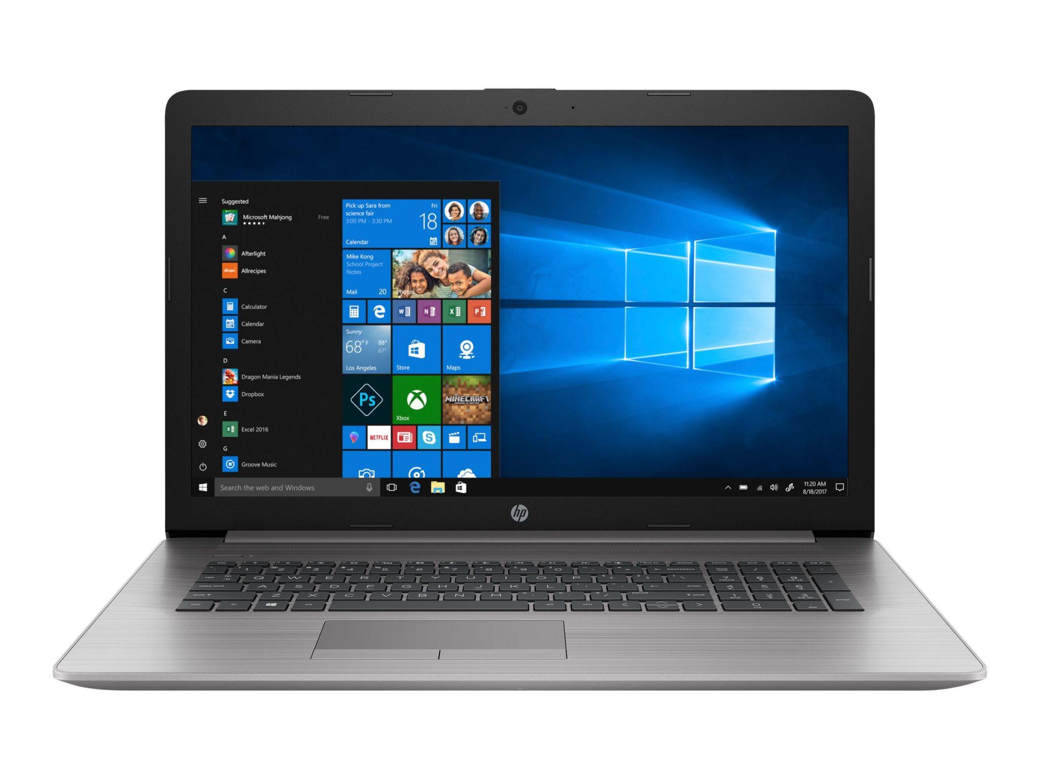 "HP 470 G7 - Smart Buy - 17.3"" - Core i5 10210U - 8 GB RAM - 256 GB SSD - Notebook"