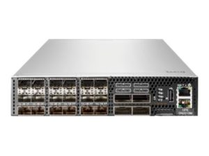 HPE StoreFabric SN2010M 25GbE 18SFP28 4QSFP28 Power to Connector Airflow Half Width TAA Switch