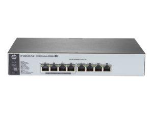 HPE 1820 8G PoE+ (65W) 8 Port Switch