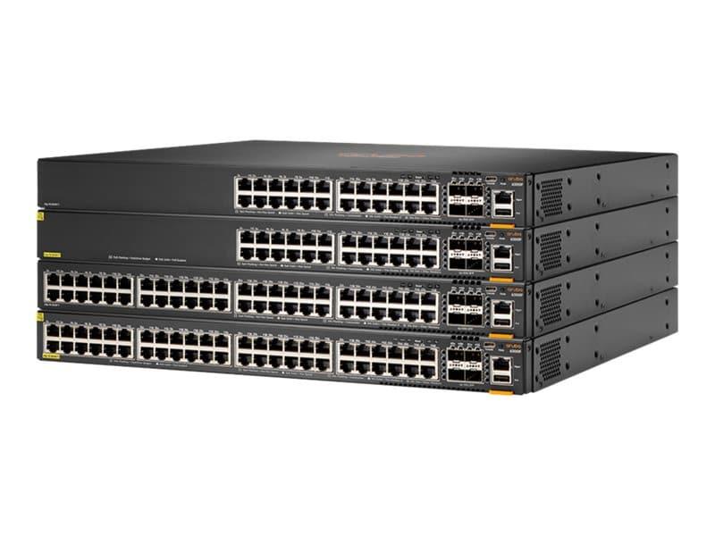 HPE Aruba 6300F 24x 1G PoE / 4x SFP56 28 Port Switch