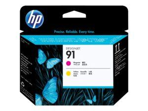 HP 91 Magenta & Yellow Original DesignJet Printhead