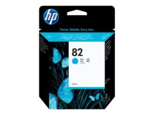 HP 82 Cyan Original DesignJet Ink Cartridge