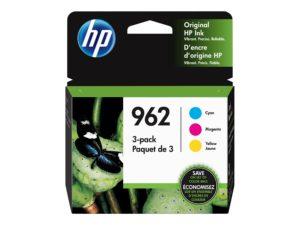 HP 962 3-pack Yellow/Cyan/Magenta Original Officejet Ink Cartridge