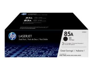 HP 85A 2-pack Black Original LaserJet Toner Cartridge