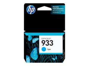HP 933 Cyan Original OfficeJet Ink Cartridge