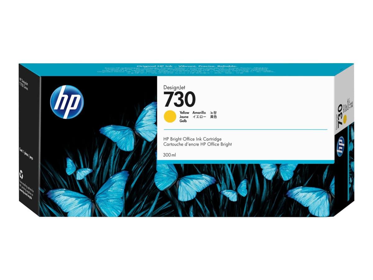 HP 730 300-ml Yellow Ink Cartridge