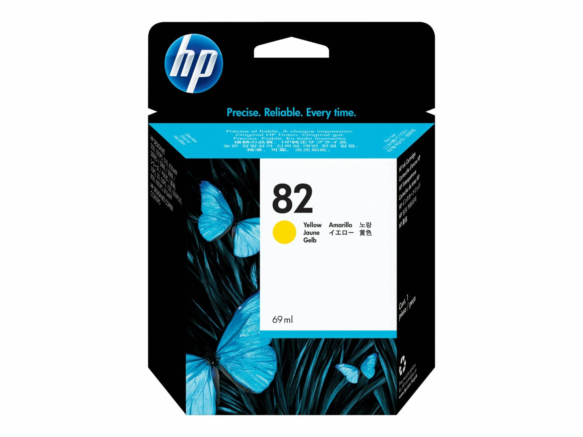 82 Yellow Ink Cartridge