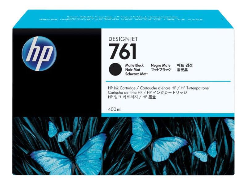 HP 761 400ml Matte Black Designjet Ink Cartridge