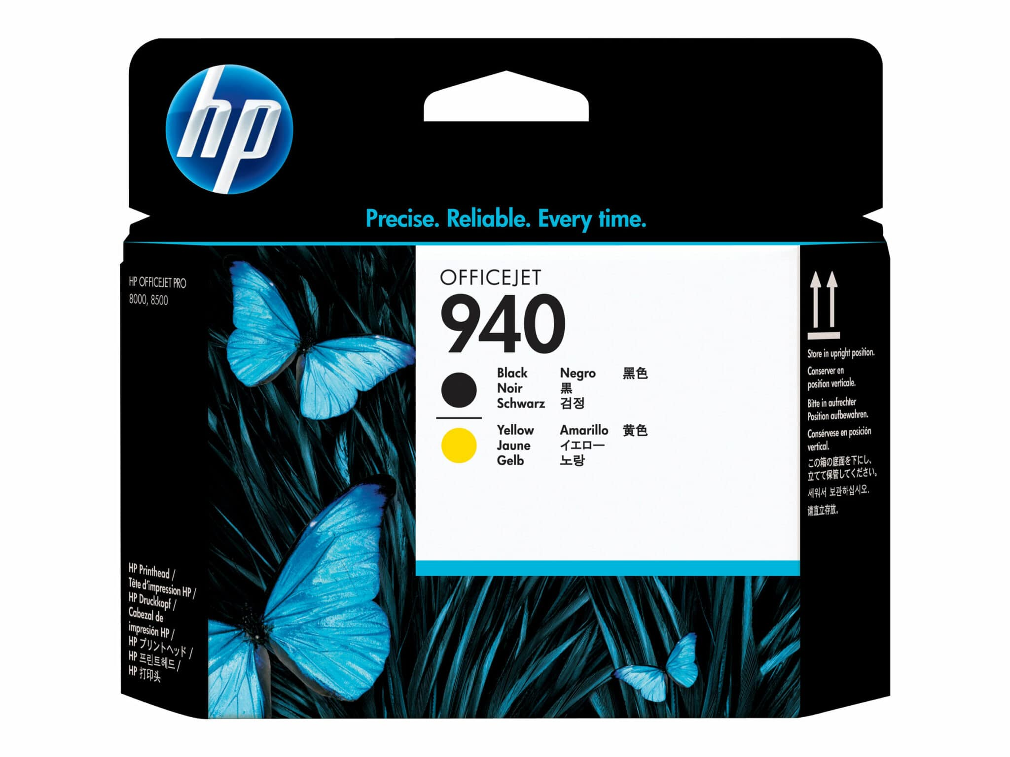Printhead HP Officejet HP 940 Black & Yellow