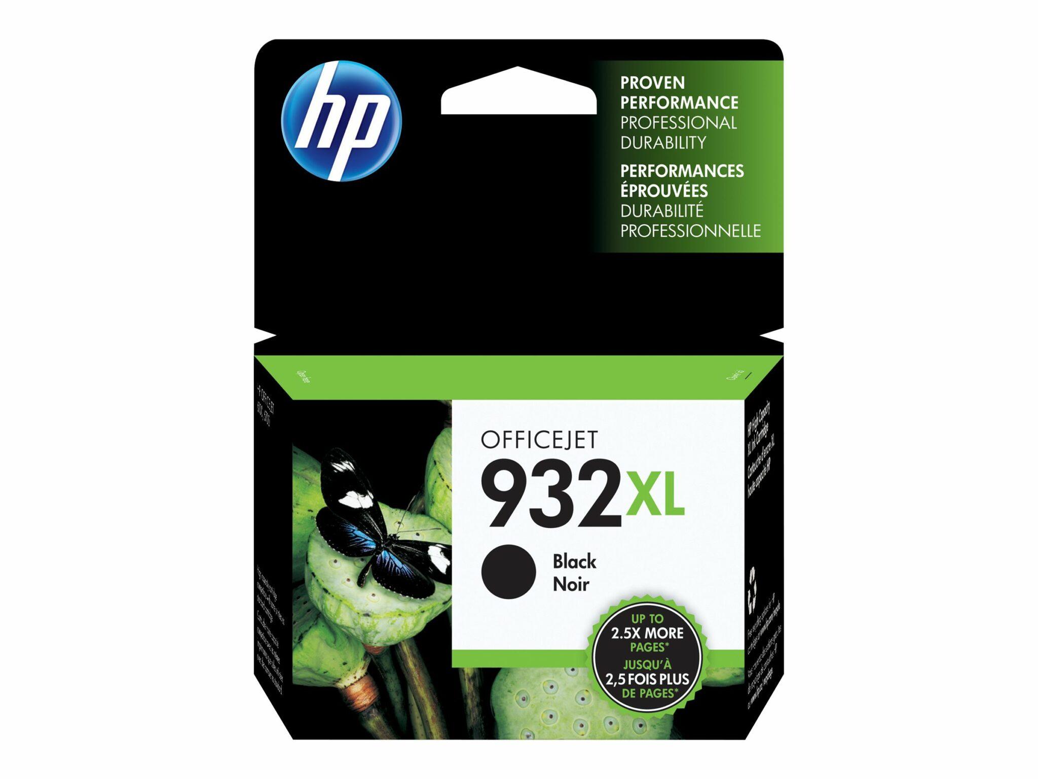 HP 932XL Black OEM Ink Cartridge