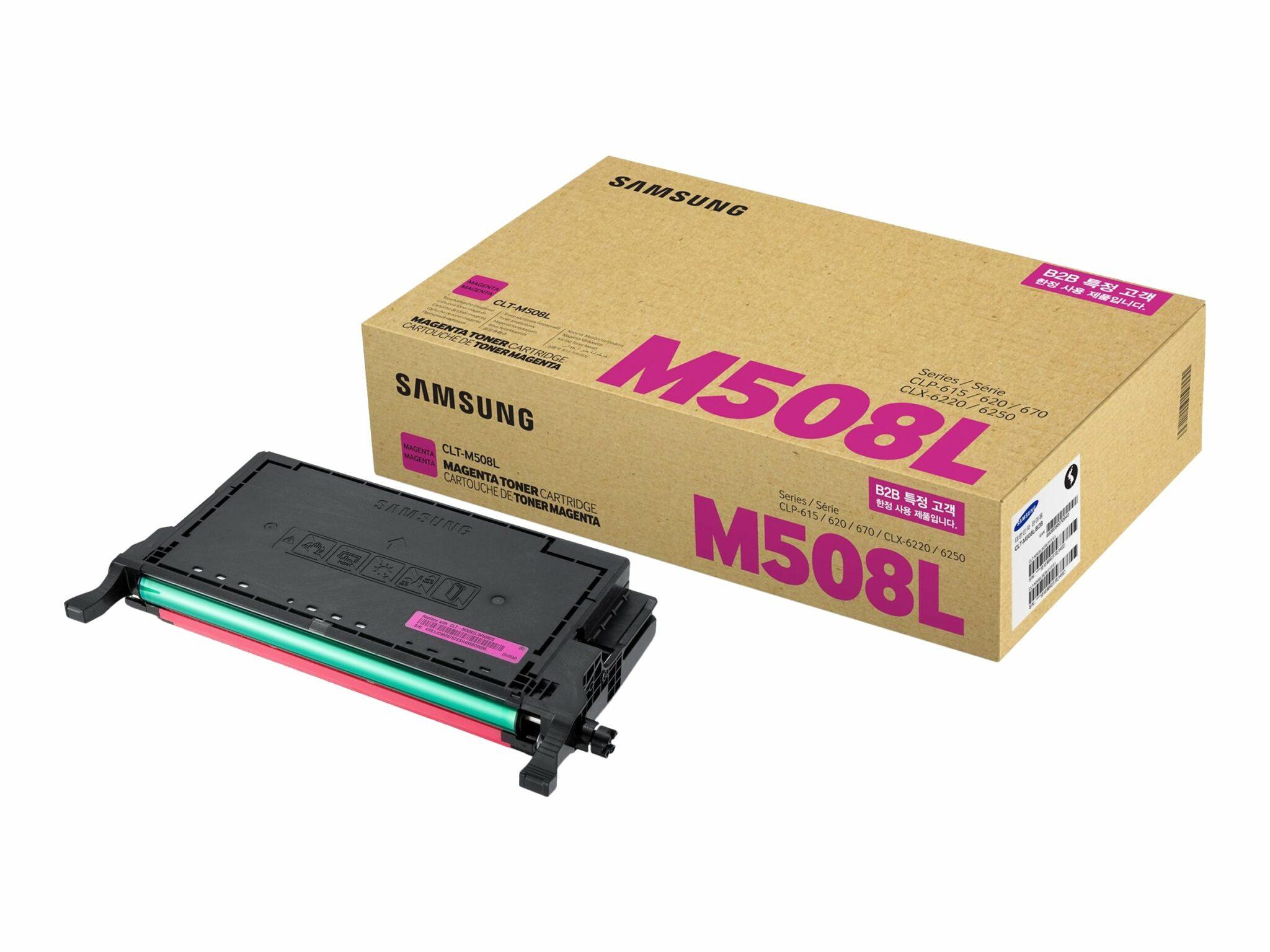 HPI Samsung CLT-M508L High Yield Magenta Cartridge