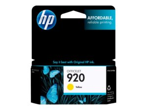 HP 920 Yellow Original OfficeJet Ink Cartridge