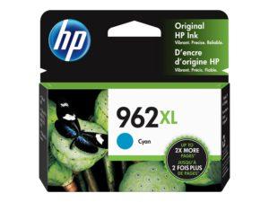 HP 962XL High Yield Cyan Original Ink Cartridge