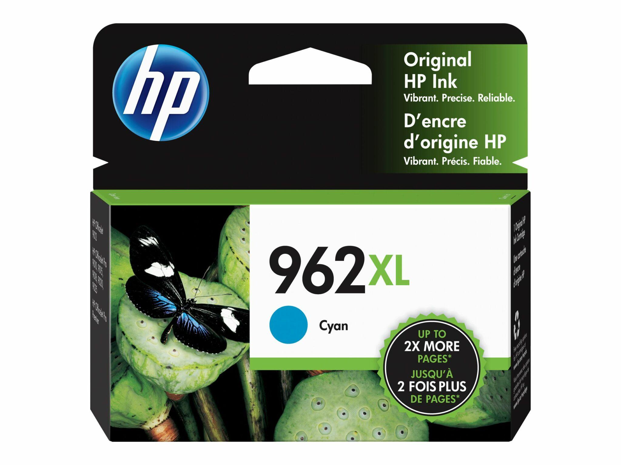 HP 962XL Cyan Original Ink Cartridge