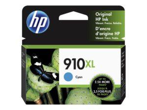 HP 910XL Cyan Original Ink Cartridge