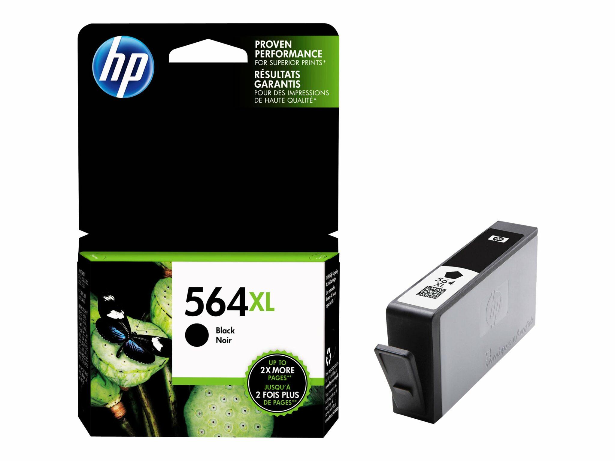 HP 564XL Black OEM Ink Cartridge
