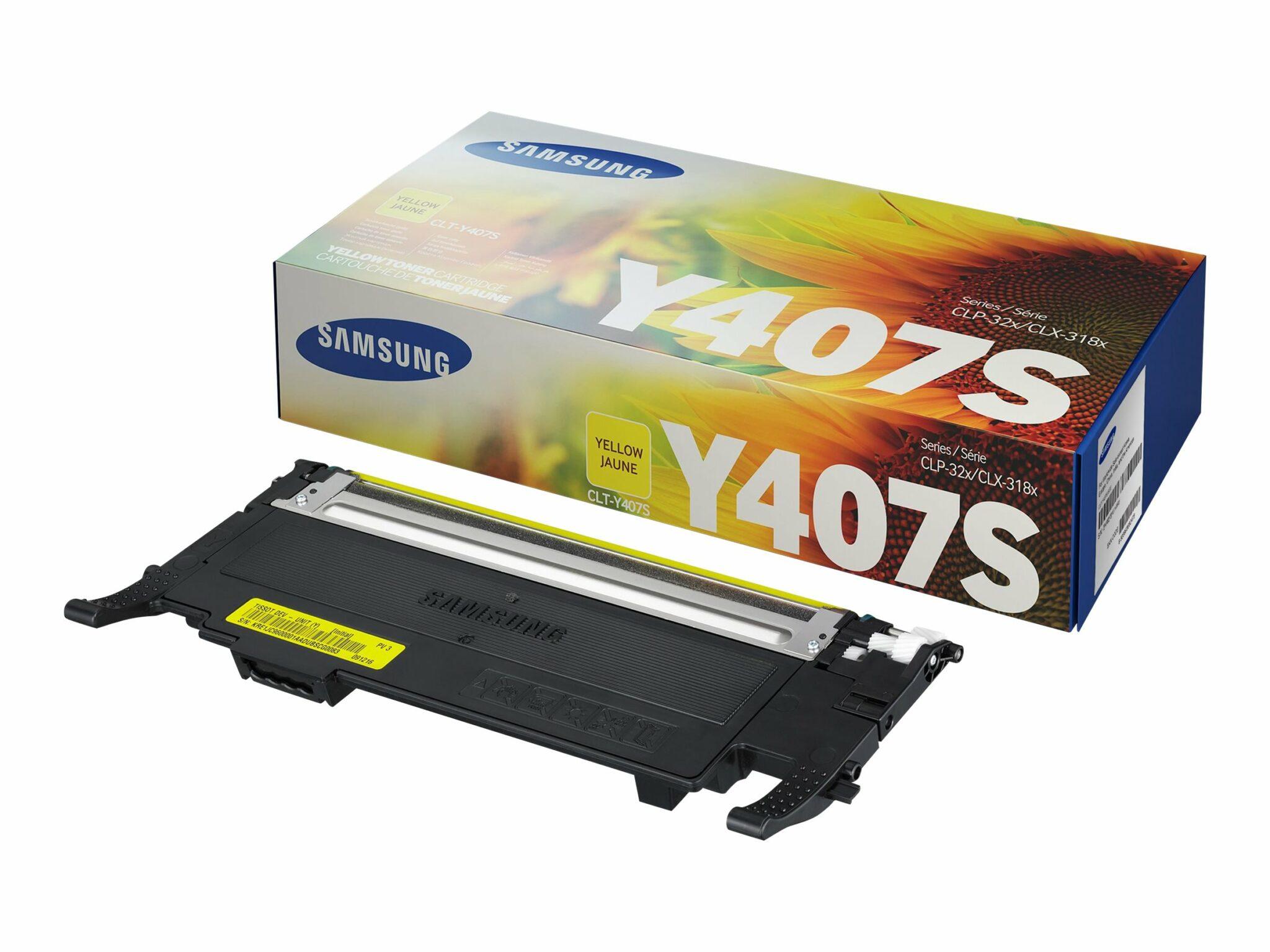 HPI Samsung CLT-Y407S Yellow Toner Cartridge