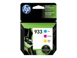 HP 933 3-pack Yellow/Cyan/Magenta Original Ink Cartridge