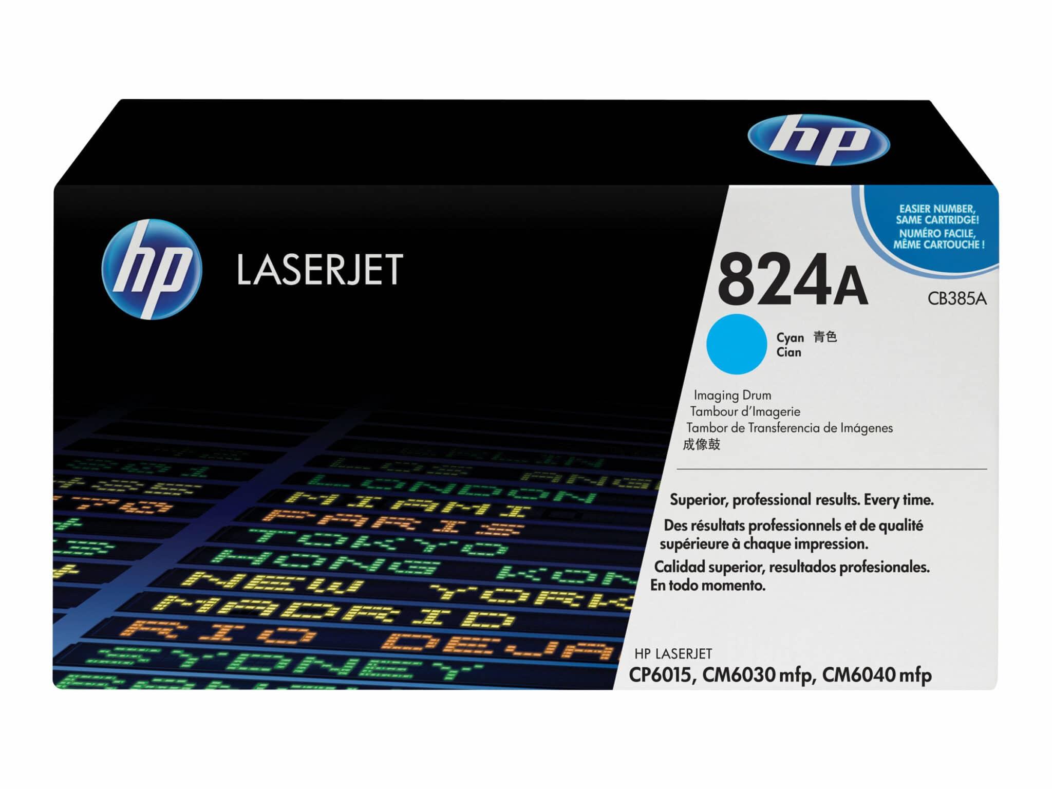 HP 824A Cyan Original LaserJet Image Drum