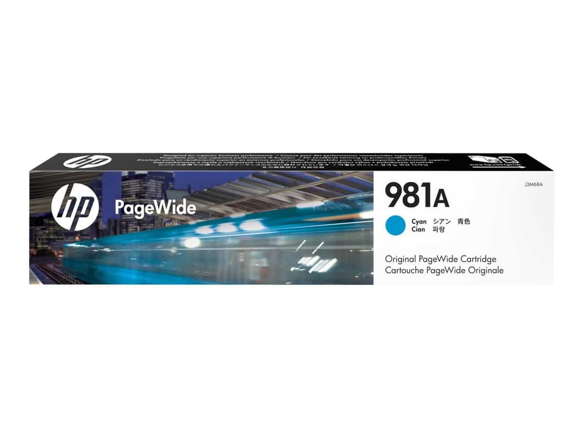 HP 981A Magenta OEM PageWide Ink Cartridge