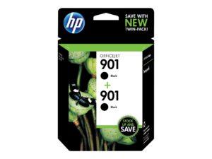 HP 901 2-pack Black Original Ink Cartridge