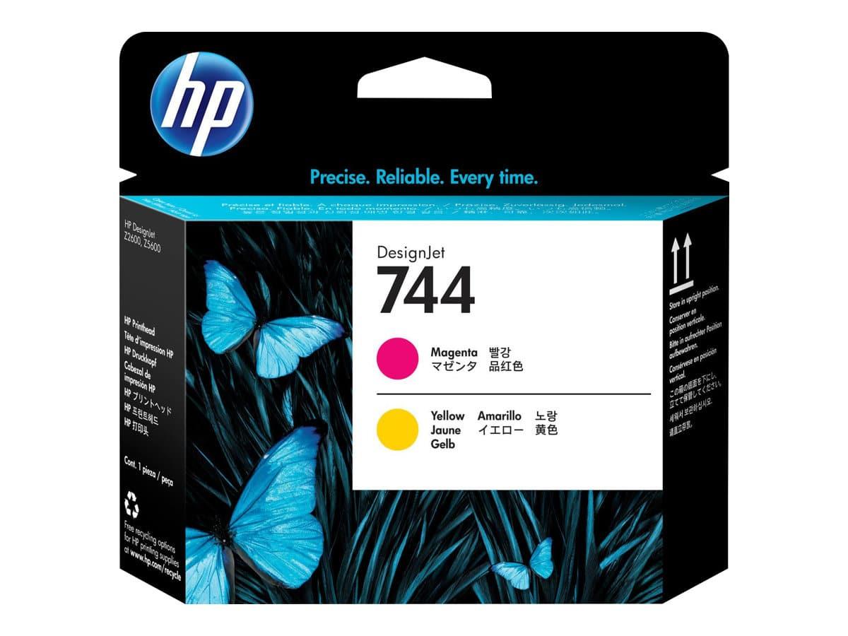 HP 744 Magenta & Yellow DesignJet