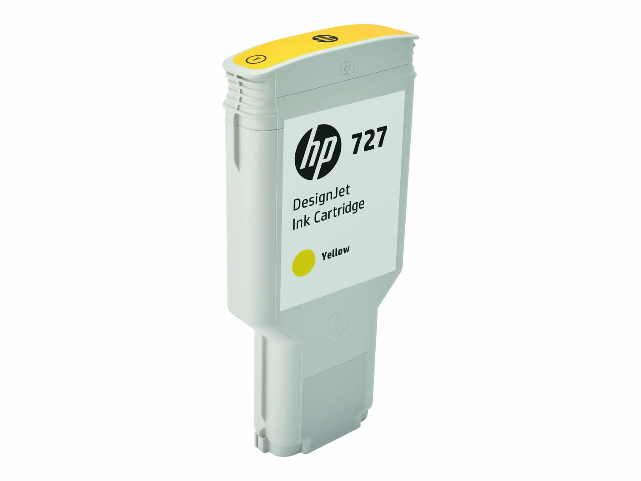 HP 727 300-ml Yellow Designjet Ink