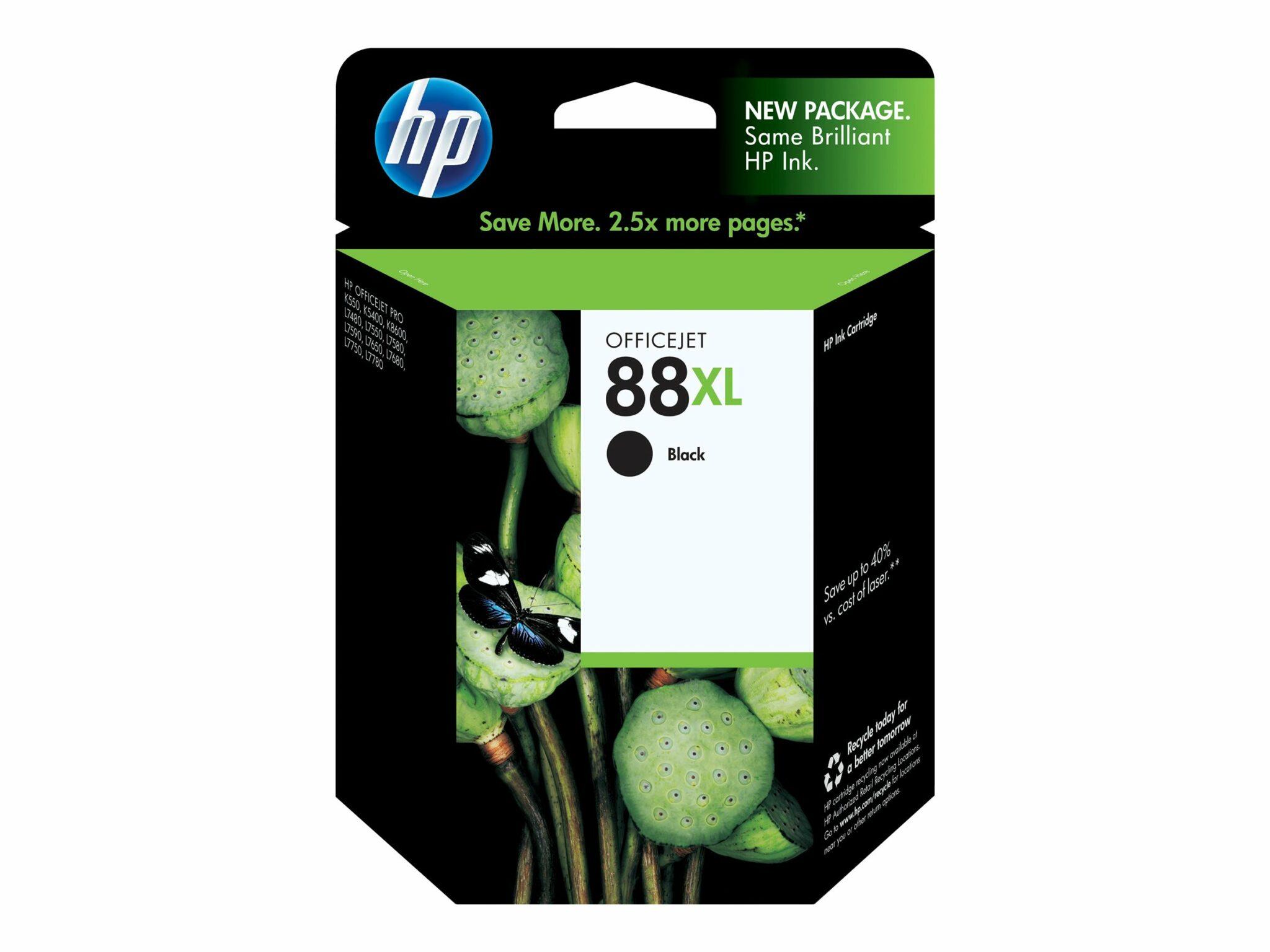 HP 88XL Black OEM Ink Cartridge