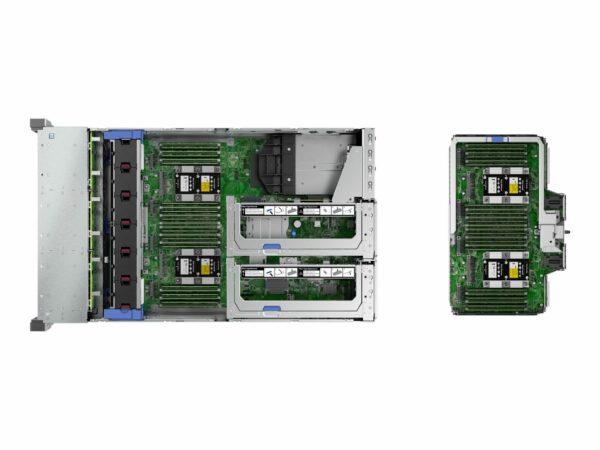 HPE ProLiant DL580 Gen10 8260 2.4GHz 24-core 4P 512GB-R 8SFF 4x1600W RPS Server