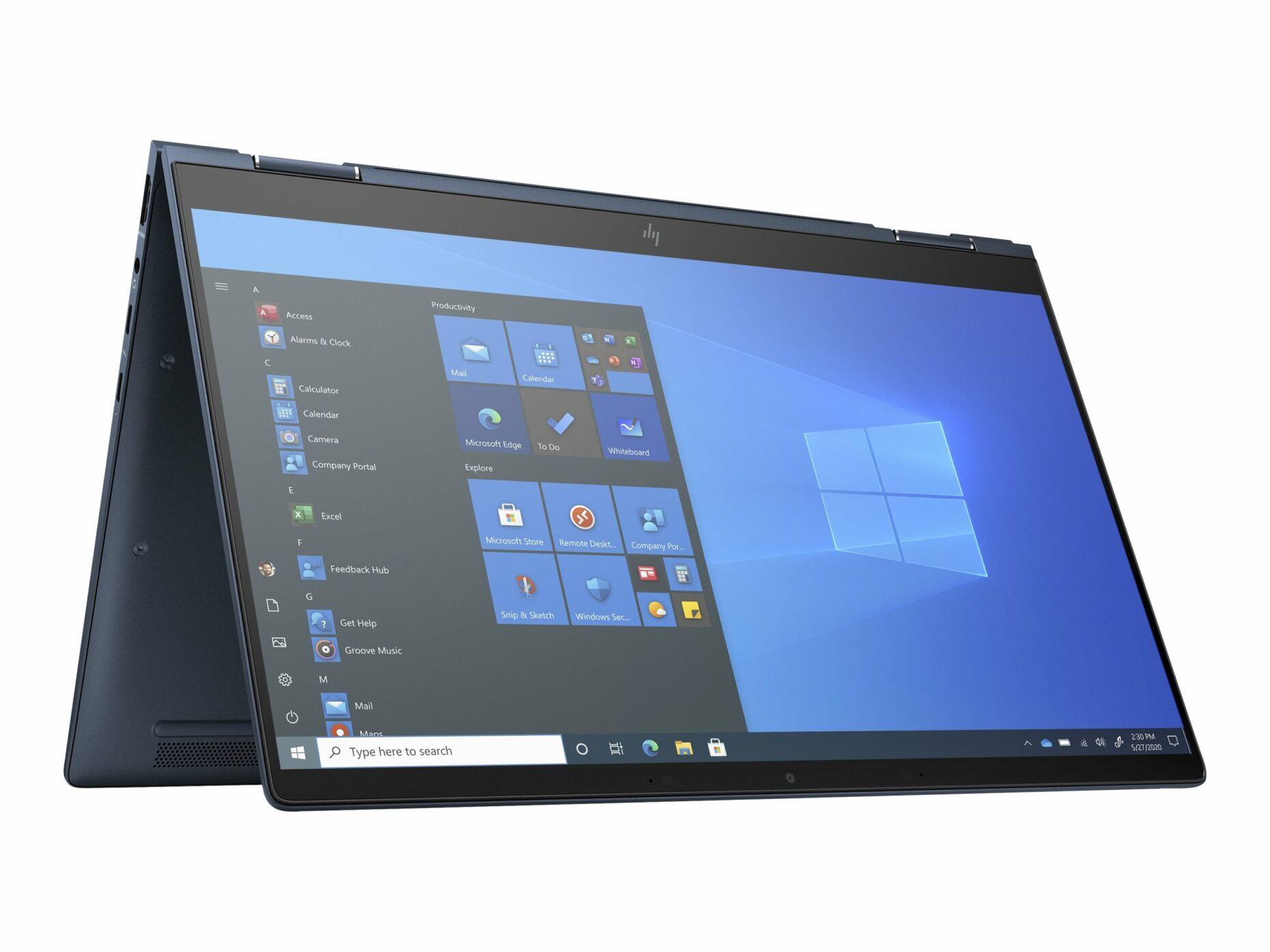 "HP Elite Dragonfly G2 - Flip design - Core i5 1145G7 - 16 GB RAM - 512 GB SSD - 13.3"" touchscreen (Full HD) - Notebook"