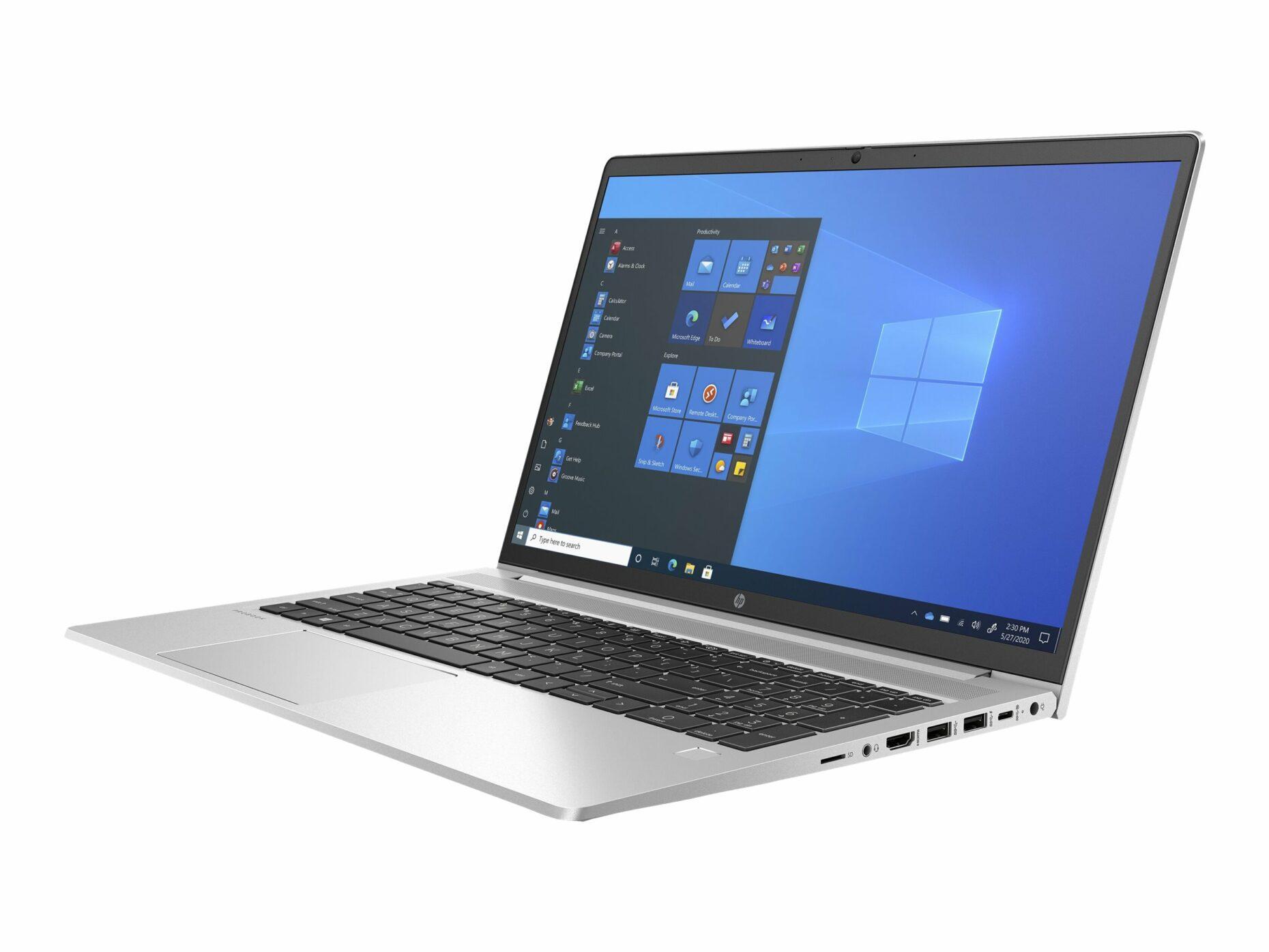 "HP ProBook 455 G8 - Ryzen 5 5600U - Windows 10 Pro - 8 GB RAM - 256 GB SSD - 15.6"" (Full HD) - Radeon Graphics - Notebook"