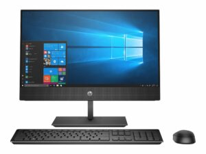 "HP ProOne 600 G5 - All-in-one - Core i5 9500 - RAM 8 GB - SSD 256 GB - LED 21.5"" (Full HD) Touchscreen - Desktop"