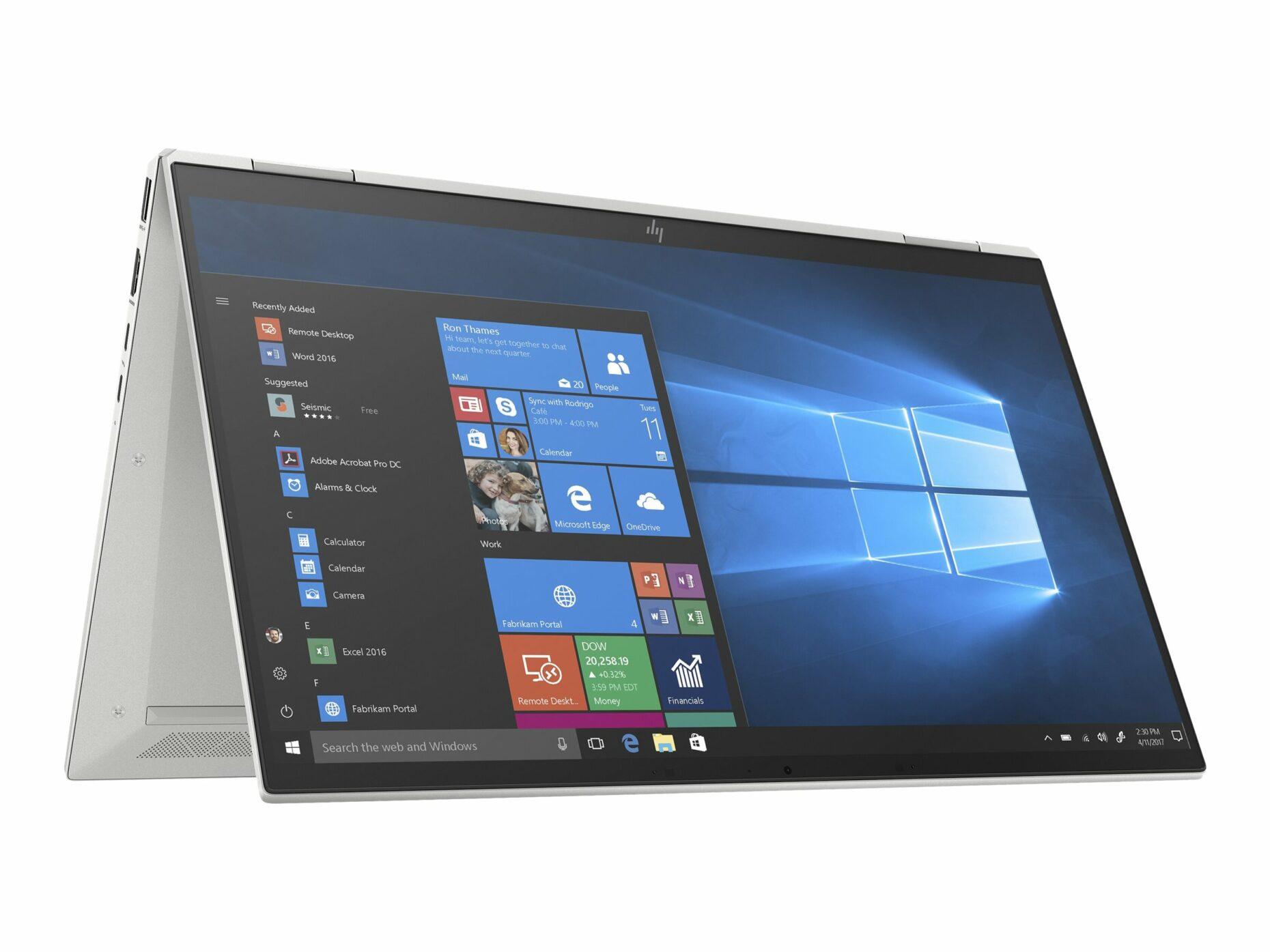 "HP EliteBook 1040 G7 - Flip design - Core i5 10310U - Windows 10 Pro - 8 GB RAM - 256 GB SSD - 14"" touchscreen (Full HD) - UHD Graphics - Notebook"
