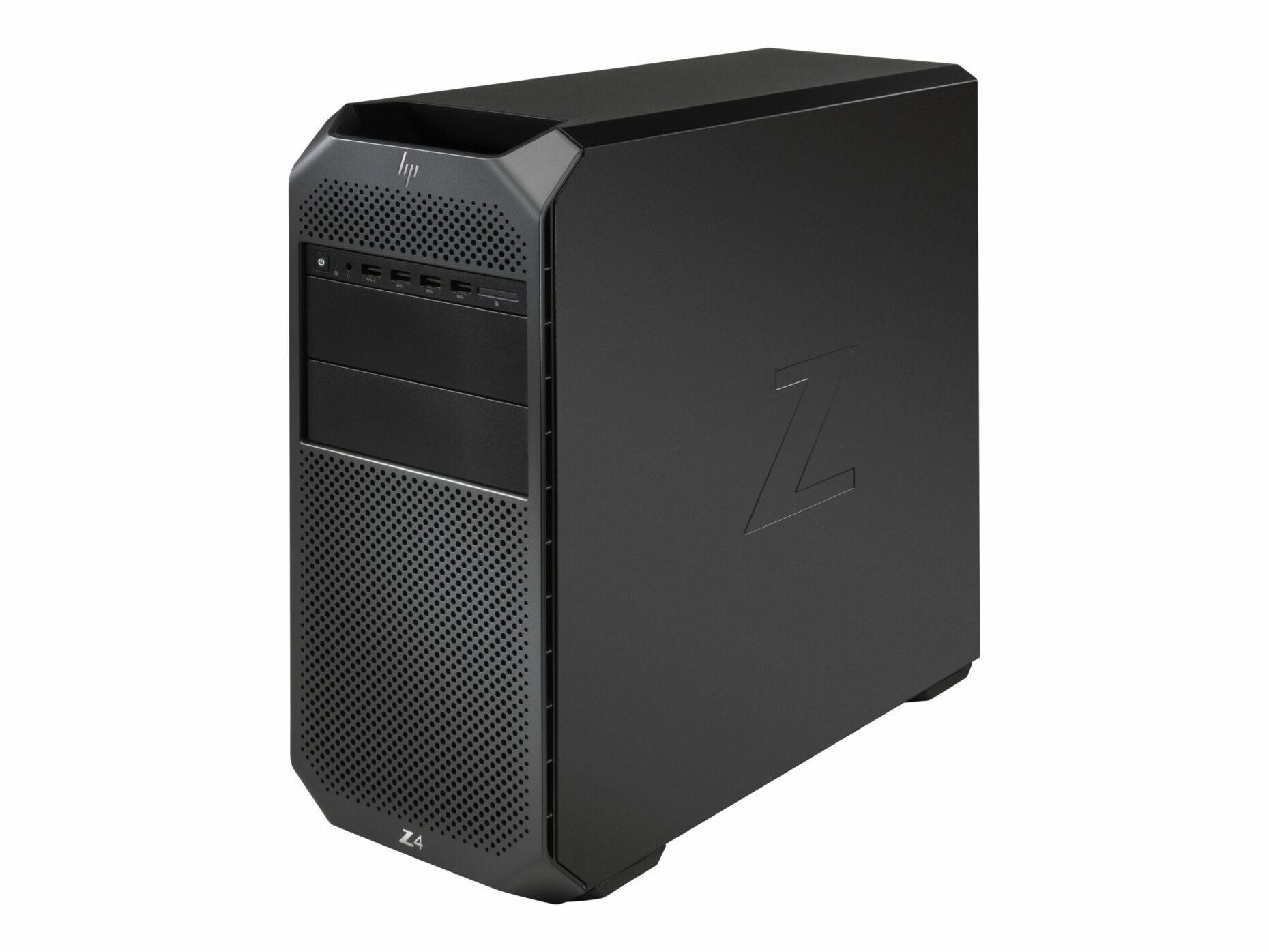 HP Workstation Z4 G4 - Xeon W-2102 - RAM 8 GB - HDD 1 TB - Windows 10 Pro - Mini Tower Desktop