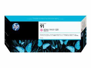 HP 91 Light Magenta Original DesignJet Ink Cartridge